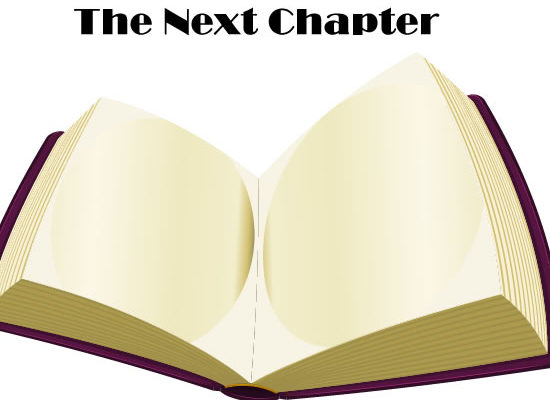 The Next Chapter October