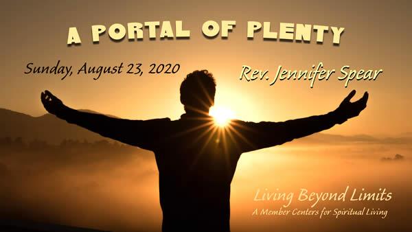 A Portal of Plenty